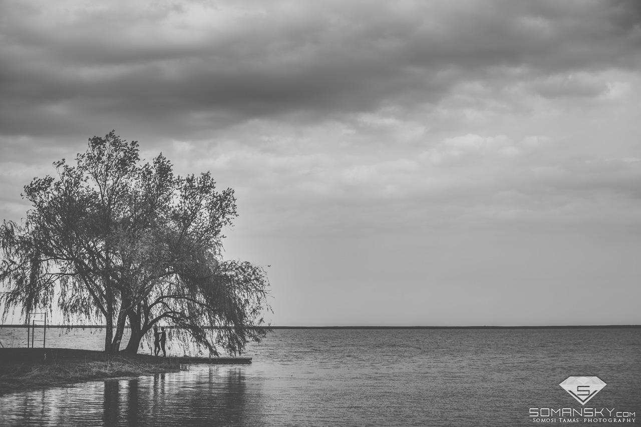 jegyes fotózás a Fertő parton